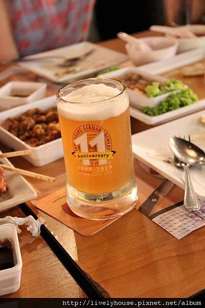 好喝的德國啤酒.JPG