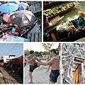 雙水上市場+螢火蟲 - 單能莎朵 - 美功鐵道市集 - 樹中廟 - 泰拳博物館 - 安帕瓦+螢火蟲