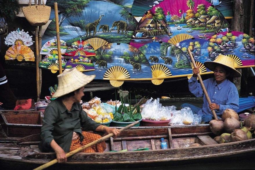 damnoen-saduak-floating-markets