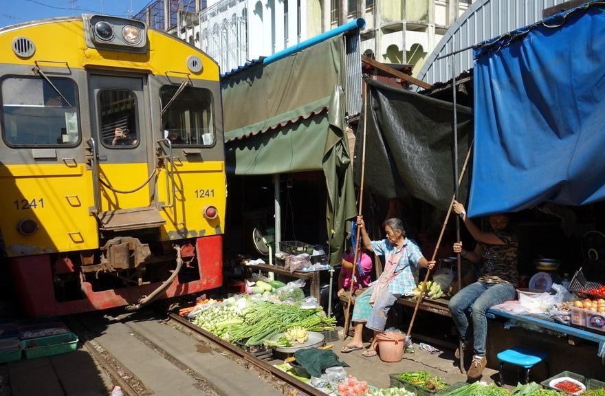 train-through-market