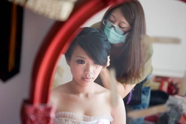 一早的新娘