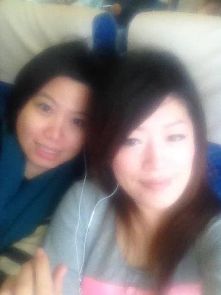 火車上的us~