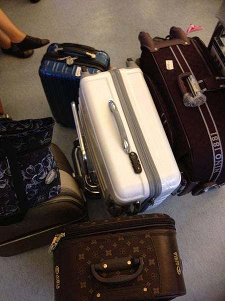 空空的行李…呵呵