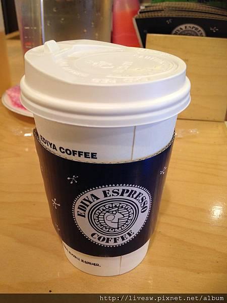 即使在韓國也要喝咖灰