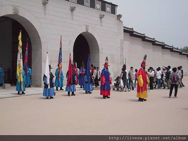景福宮有舊式的交接