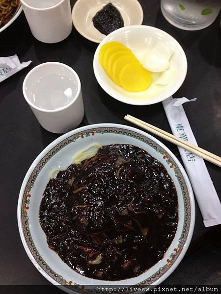 韓式中華炸醬麵