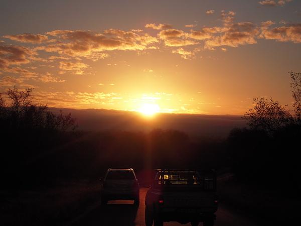 我在南半球看日出啦~!!