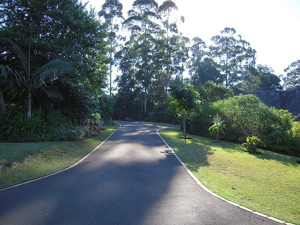 社區內的路