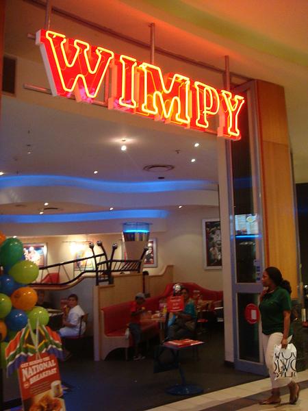 聽說這家是南非有名的速食店