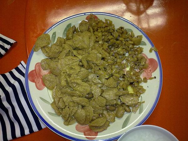 麵筋+菜埔