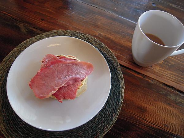 我的早餐--很好吃