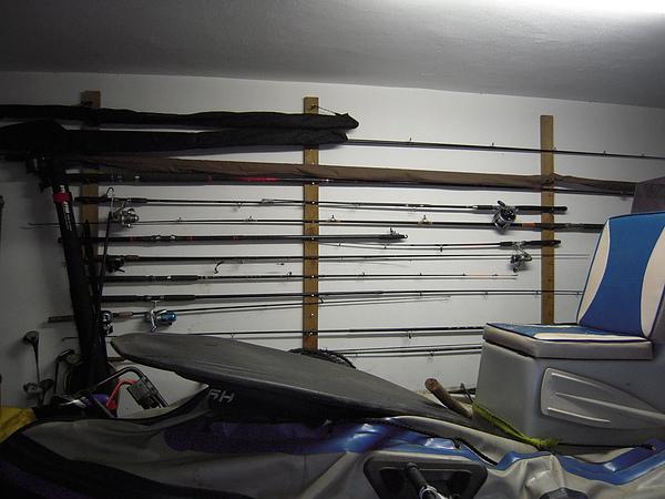有必要這麼多魚杆嗎??