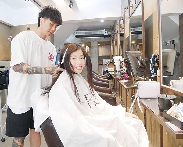燙髮前剪髮-台中燙髮推薦