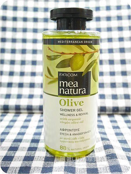 橄欖清爽沐浴露