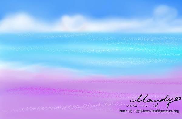 天狼星上的紫色沙灘