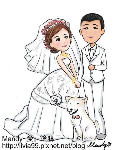 婚禮立牌系列二
