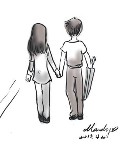 漫步。慢活