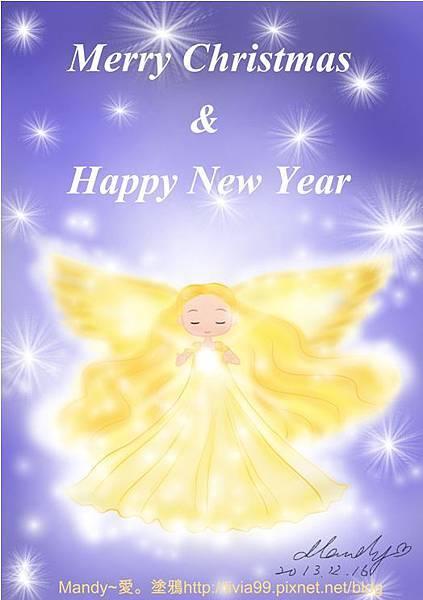 金色天使送來歲末祝福,喜迎2014