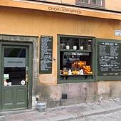 老城區裡的個性咖啡果汁店