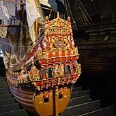 瓦薩戰艦模擬縮小原型