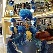 迎接賓客的古巴舞蹈及音樂熱情演出!