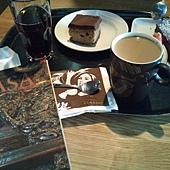在瓦薩博物館裡喝咖啡:)