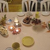 參加老公親戚為我們準備的下午茶慶祝聚會