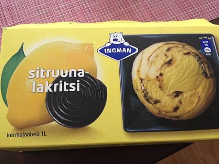 檸檬甘草糖冰淇淋