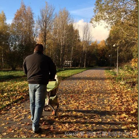 老公推嬰兒車