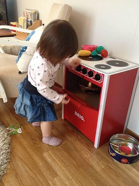 瑞典Brio 兒童廚具組試玩