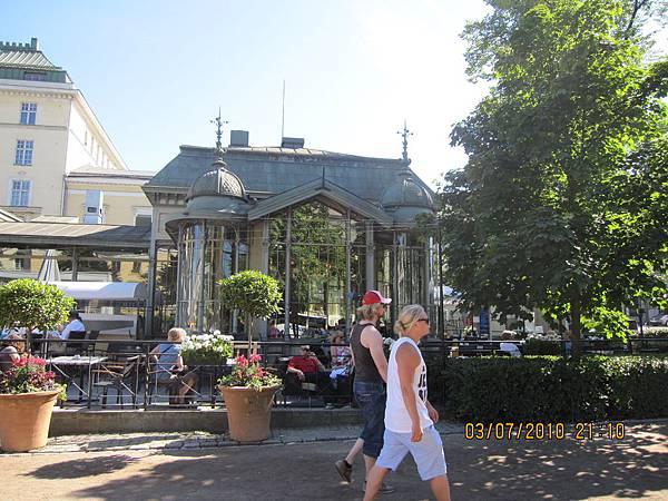 公園裡最有名的藝文咖啡廳&餐廳