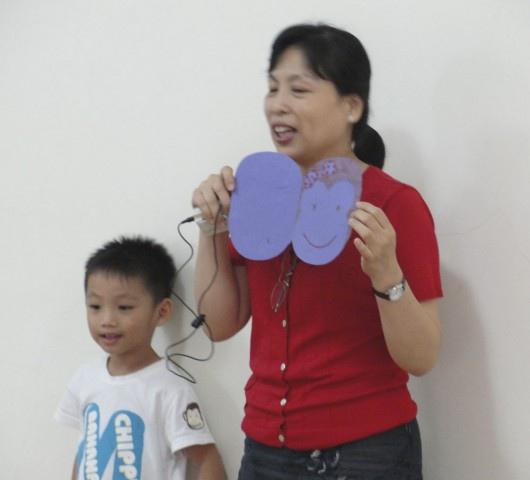 發表時間:孩子跟爸爸媽媽共同創作了什麼呢?
