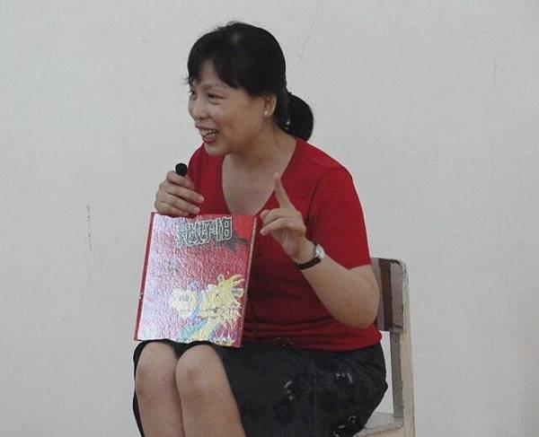 每次上課老師都會分享一至兩本繪本