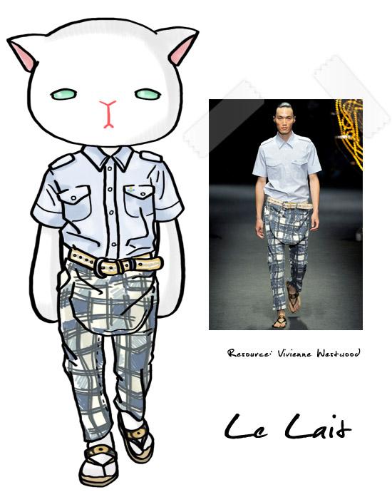 le Lait,vivienne westwood,fashion,runway,時尚