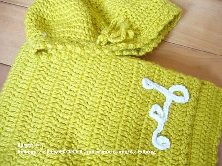 橄欖色圍巾3