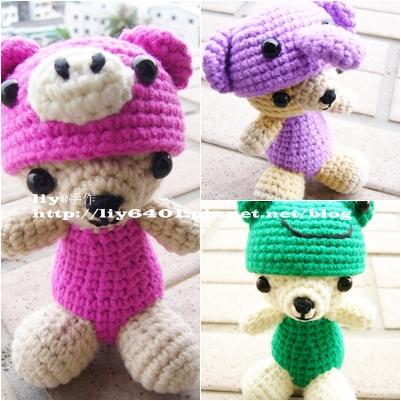 愛載帽的小熊3