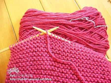 第一條棒針圍巾1