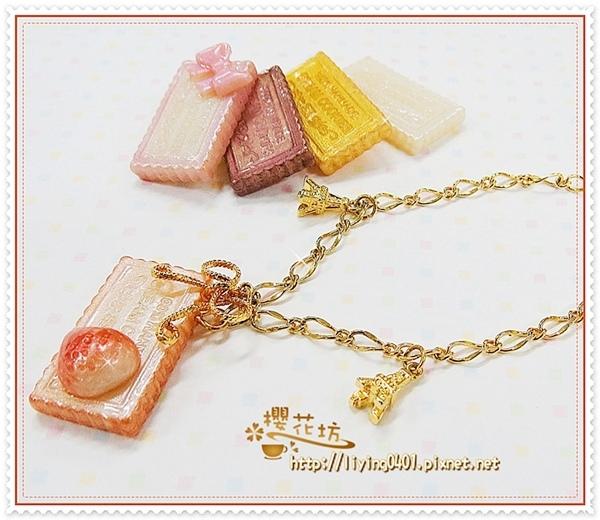 珠寶黏土飾品~巧克力手鍊