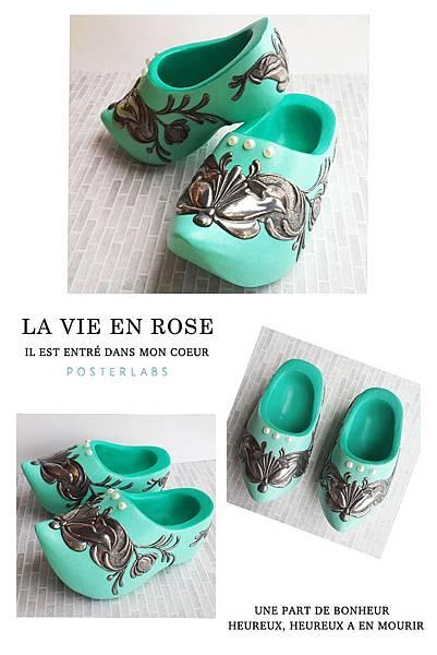 歐式金屬壓花-荷蘭傳統木鞋