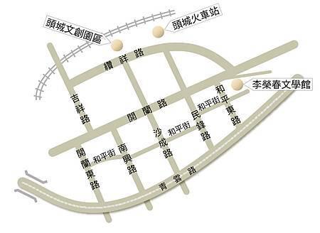 文風輕旅遊-map