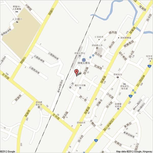 頭城 站舍巷1號 - Google 地圖