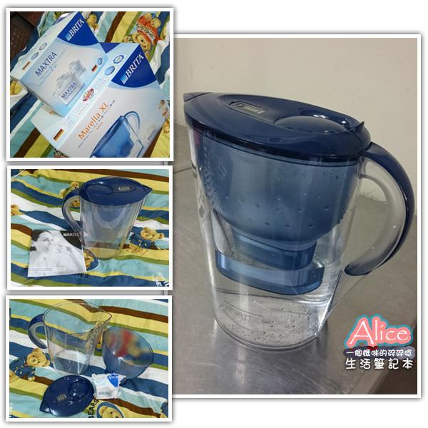 特力屋購物網_BRITA瀘水壺馬利拉型(藍)含三支濾芯