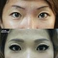 紋眉眉型調整(褪色紋眉眉毛)