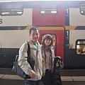 V兩層的火車