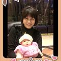 短髮,和寶貝女兒