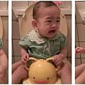 桃子練習恩恩~ 哭了!!