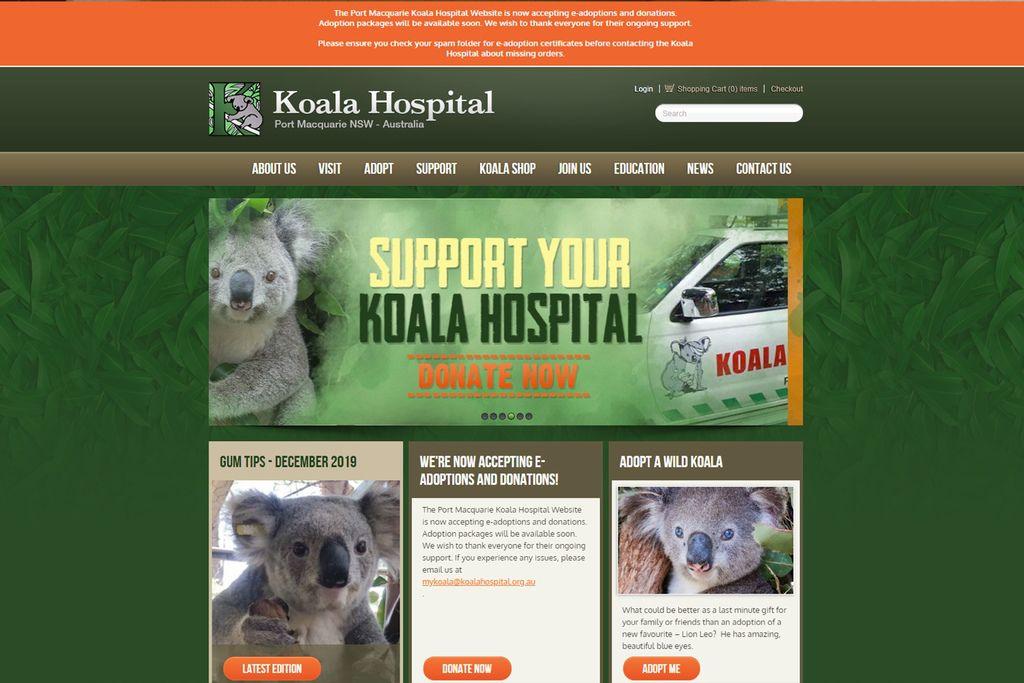 澳洲無尾熊醫院(Australia Koala Hospital)網站.jpg