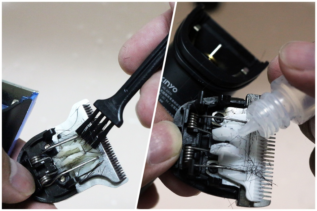 KINYO充插兩用電動理髮器-保養.jpg