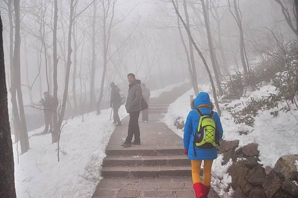霧黃山05