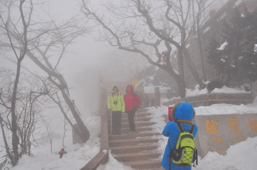 霧黃山09